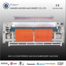 HXC-233G computerized quilting embroidery machine, garment making machine