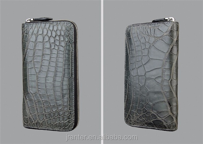 women leather wallet high quality crocodile leather luxury wallet for women_10