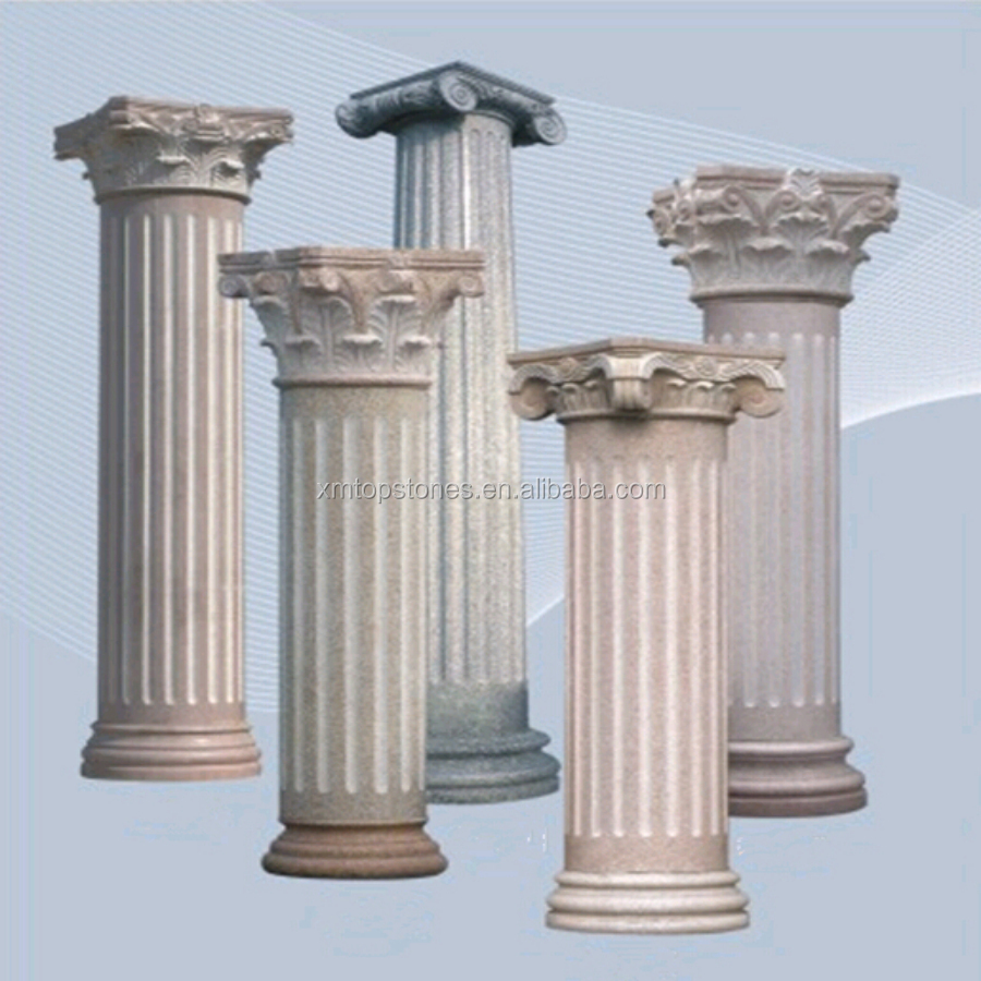 28 Decorative Top Of A Column Decorative Bold Classical Style Carved Wooden Column In Pillars