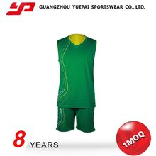 New Arrival Exceptional Quality Fashion Custom Color Green Jersey Basketball