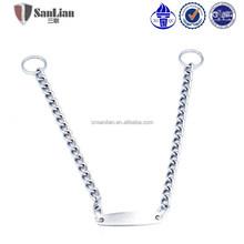 New product China wholesale pet dog choke chain pet collar