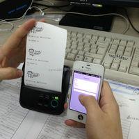 Wireless Mini Thermal Printer/ Portable Receipt Printer For Mobile Application