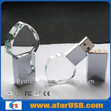 crystal diamonds heart usb flash drive /crystal usb flash/jewellery usb flash drive