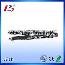 JB-811 hot sale wide hair straightener with zebra paint