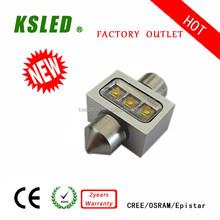 2015 hot sales Festoon 31 36 39 41mm 5w led license plate lamp for bmw 1.5W 3W 5W 10W15W IP67 12V/24V CE ROHS