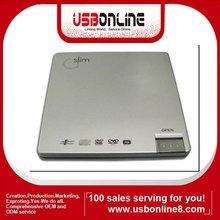 8x USB 2.0 External Clamshell Laptop DVD Burner DVD +/- RW DVD RW Drive CD Reader Writer