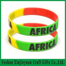 bracelet/wristbands adaptes aux besoins du client droles createurs colores de silicone pour la promotion