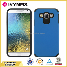 Anti-shock mobile phone case for Samsung E5 hot sale case