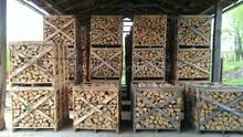 KD firewood in wooden 100/100/100 Box Pallet