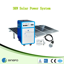 3kw solar power system for commercial use,All-in one solar energy plant