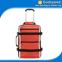 1000D tarpaulin sports trolley bag fashion hiking trolley backpack