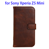 alibaba express accessorie pu mobile phone leather case for Sony Z5 Mini