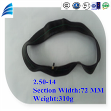 2.50-14 high quality popular tread motorcycle parts motorcycle tube and inner tube for motorcycle