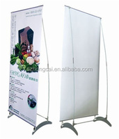 Fine Package iron exhibition show banner stand