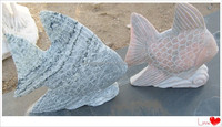 large stone fish sculpture for sale