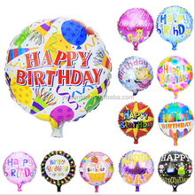 Happy Birthday Foil Balloon Baby Kids Birthday Party Decorations