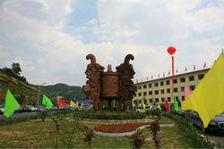Famous Antique imitation garden Wrought Copper Sculpture