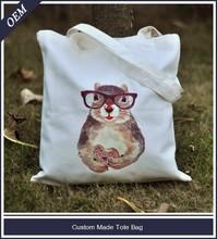 Double strapes cotton canvas duffel bag wholesale