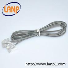 gris rj11 cable telefónico de importación de mercancías de china
