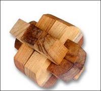 Brain Teaser Wooden Puzzle TPZ04