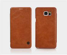 Factory Price NILLKIN QIN Leather Filp Case Cover for Samsung Galaxy Note 5