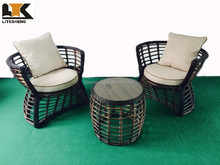Ningbo Outsunny Rattan Wicker Coffee Table Mini Pool Table