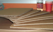 Corrugado Pape tipo <span class=keywords><strong>de</strong></span> papel corrugado hoja