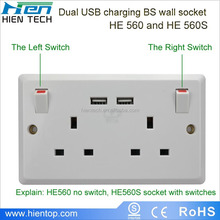 New Arrival Smart uk Wifi usb outlet adapter for Home Appliance Automation