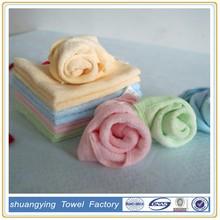 hot sale bamboo fabric towel soft feeling