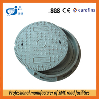 Sanitary sewer manhole cover with EN124 test