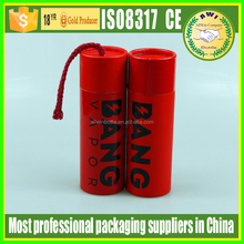 christmas packaging paper tube fancy packaging boxes large round container