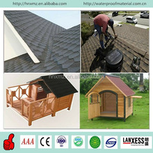 Colored Waterproofing Fiberglass Asphalt Roofing Shingles For House