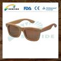 Gafas personalizasas de sol hechas de madera de bambú