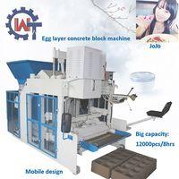 WANTE MACHINERY Hollow block machine in philippines