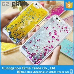 Hot Selling Bling Star Moving Glitter Case for iPhone 6 4.7inch