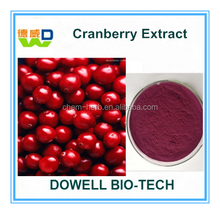 Antioxidant Products Cranberry Extract 10%/25%/30% UV HPLC Proanthocyanidins Anthocyanins Cranberry Juice Powder
