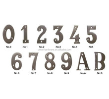 European style Stainless Steel Door House Number