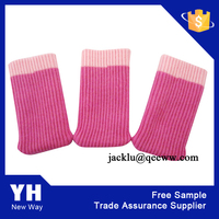 2015 High Quality Polyester Colourful Knitting Chair Sock Desk Sock Table leg cover