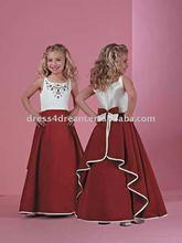 appliqued maxi vestidos de meninas com arcos vestidos para criancas de 11 anos
