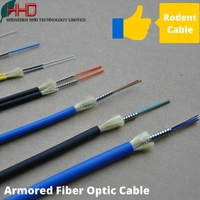 Ftth armored 2 4 6 8 12 24 48 96 144 core g652d sinlge mulite mode glass fiber optic patch cord cable 1km per meter price