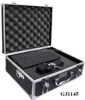 strong and portable aluminum tool chest with Removable Diced Foam inside