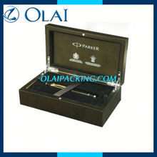 deluxe customized gift pen box in china in packing box for business