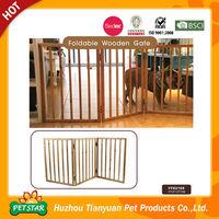 Foldable Wooden Expandable Dog Fence