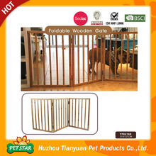 Foldable Wooden Expandable Dog Fence