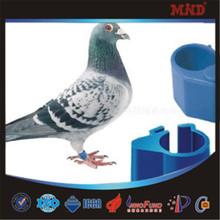 MDT049 Pigeon season customized pigeon rings open ring 5mm cockatiels leg bands new design plastic open / clip birds rings