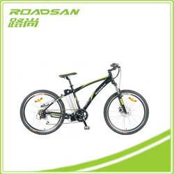 Adult/Young Adult-Black Single Speed Battery Bike With Ce
