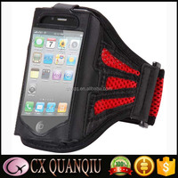 Retro Waterproof Sports GYM Luxury Flip Leather Case Running Armband For Iphone 4 / 4S
