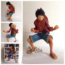 one piece 3D Japanese Anime Figures OEM&ODM Monkey D Luffy Customize movies one piece character 1/6 pvc figure Battle Version