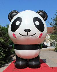 hot-selling waha customized giant inflatable panda popular !!!!