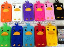 Napov chick design 3d silicon animal case for iphone 4 4s